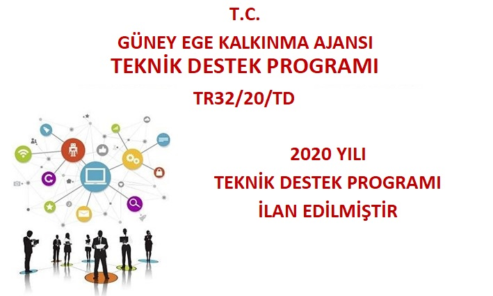 2020 Yılı Teknik Destek Programı İlan Edilmiştir