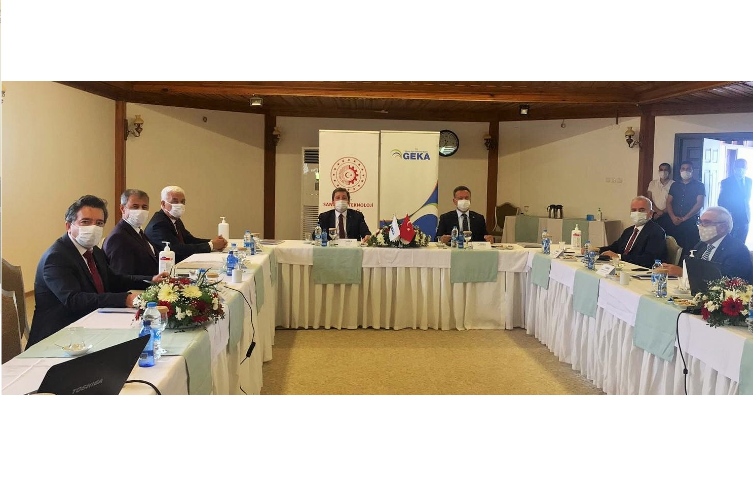 Güney Ege Kalkınma Ajansı'nın 133'üncü Yönetim Kurulu Toplantısı 27 Ekim 2020 tarihinde Muğla'da gerçekleştirildi.