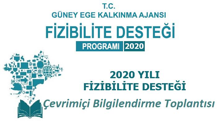 2020 Yılı Fizibilite Desteği Programı Çevrimiçi Toplantı